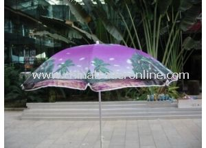 Hot Sale Oxford Sunshade Straight Outdoor Beach Umbrella from China