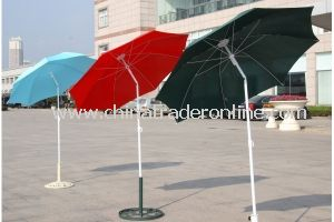 Manual Iron Tilt Oxford Outdoor Beach Umbrella