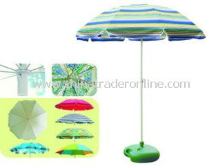 Promotion Beach Umbrella with 190t Plolyester in Heatransfer Printing