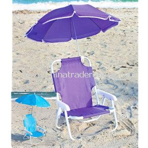 Purple Personal Outdoor Children Garden Beach Umbrella