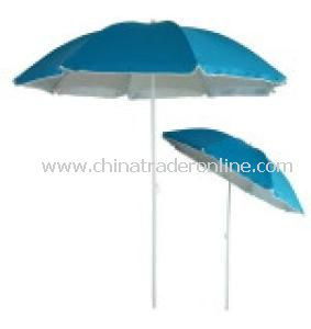 Steel Beach Umbrella with Tilt from China