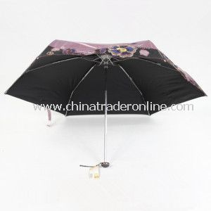5 Fold Super Mini UV Protect Umbrella with Bag