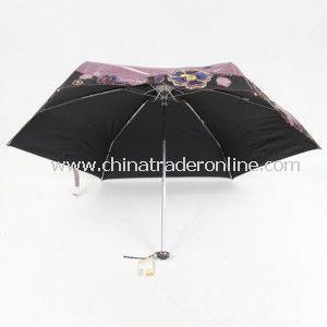 5 Fold Super Mini UV Protect Umbrella with Bag from China