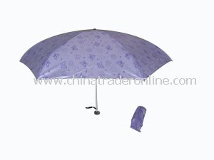Super Mini 4-Folded Umbrella Lady Umbrella Pocket Umbrella