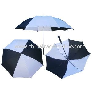 190t Nylon Single Layer Golf Umbrella