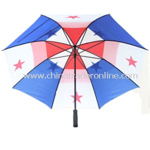 28inch Double Layer Golf Umbrella for Advertisement from China