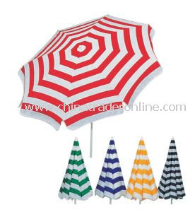 Aluminum Beach Umbrella with Various Style Available, OEM Order Are Accepted