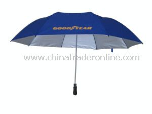 Auto Open High Quality 2 Fold Golf Umbrella