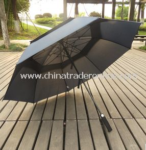Automatic Double Layer Windproof Outdoor Advertising Golf Umbrella