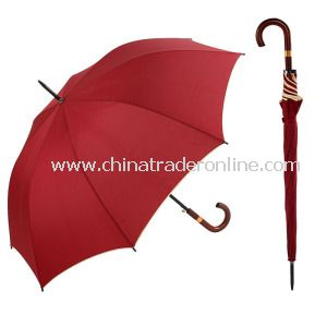 Fashion Sun Straight Golf Umbrella Pongee OEM Umbrella