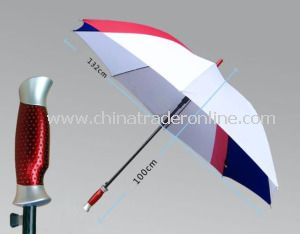 High Quality Automatic Fiberglass Windproof Outdoor Golf Umbrella