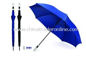 Straight Manual Open Golf Umbrella from China
