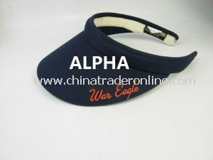100% Cotton Sun Visor Golf Cap Baseball Cap from China