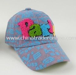 Beautiful Water Washed Kids Jean Baseball Cap