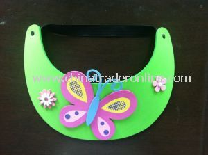 Colorful EVA Sun Visor for Promotion