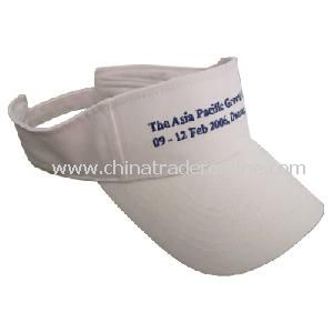 Popular Fashion Simple Lovely White Sprots Sun Visor