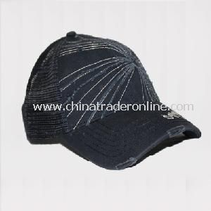 Antique Finish Washed Baseball Cap