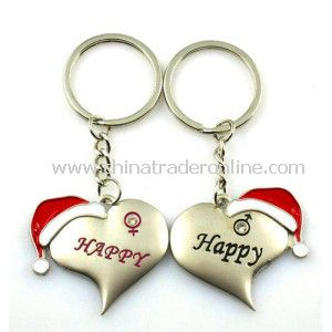Custom Christmas Gift Metal Ke