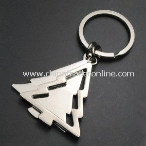 Hot Sale Fashion Christmas Trees Keychain