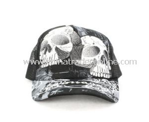 Washed Baseball Cap with 3D Emb